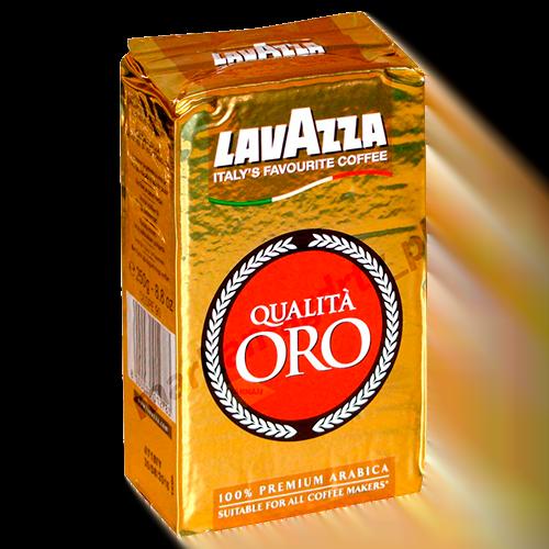 КОФЕ МОЛОТЫЙ LAVAZZA «QUALITA ORO» 250 ГР. 100% АРАБИКА