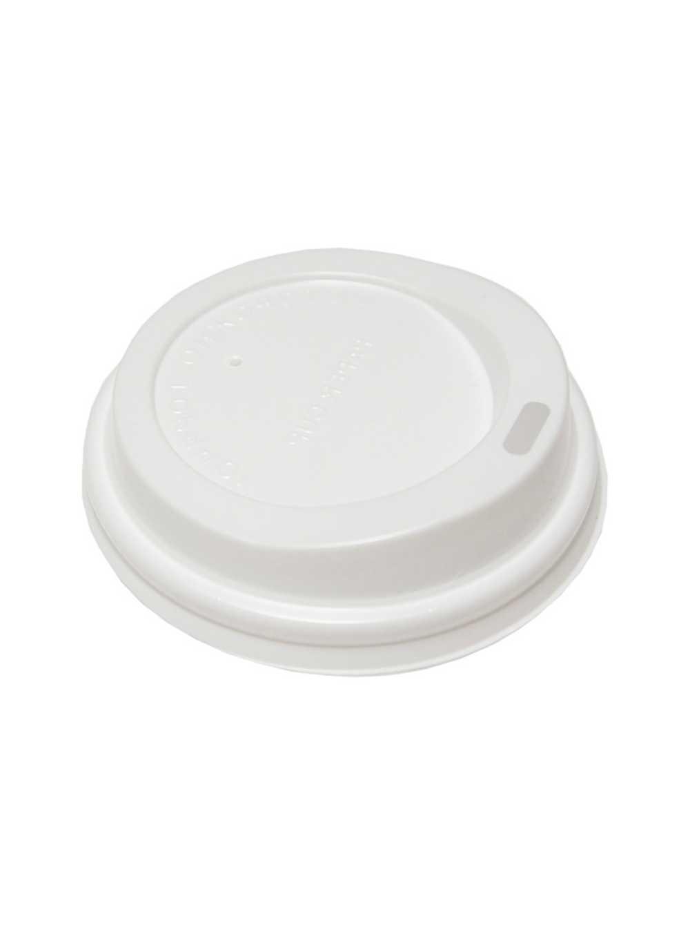 Крышка для бумажного стаканчика HoReCa 165 мл. белая