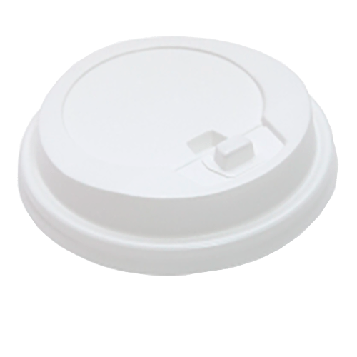 Крышка для бумажного стаканчика HoReCa 175 мл. белая