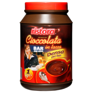 """Горячий шоколад RISTORA """"Bar"""" (в банке) 1КГ."""